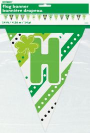 Happy ST Patrick's Day Bunting Banner