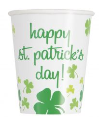 Happy ST Patrick Day Cup ( Pack of 8)