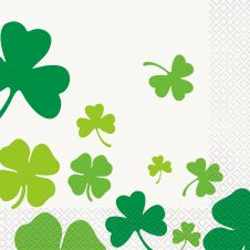 Happy ST Patrick Day Lunch Napkins ( Pack of 16)
