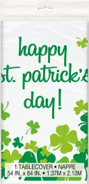 Happy ST Patrick's Day Table Cover