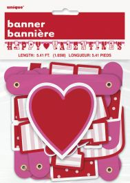 Happy Valentine Jointed Banner