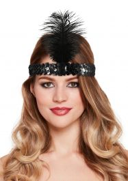 Headband Charleston Black