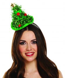 Headband Hat Mini Christmas Tree