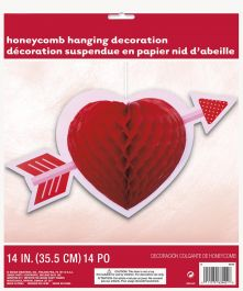 Heart Honeycomb Hanging Decorations