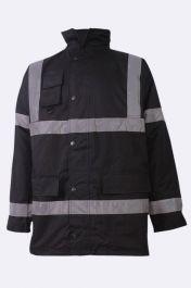 High Visibility Mens Bomber Jacket