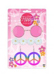 Hippie Adult 4 Pcs Set