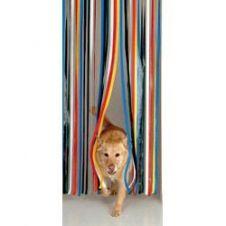 Holland Plastics Standard PVC Strip Door Curtain - 81 x 20