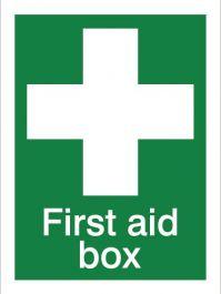 House Nameplate Co First Aid Box - 15x20cm