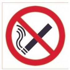 House Nameplate Co No Smoking Symbol Pk2 - 15x10cm