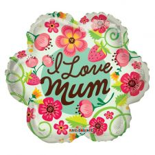 I Love You Mum Balloon (18 inch)