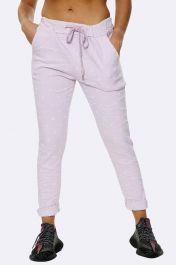 Italian Daisy Print Pants Baby Pink