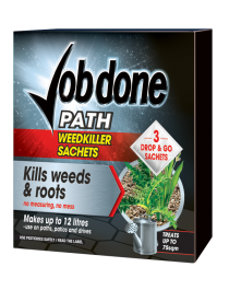 Job Done Path Weedkiller - 3 Sachets