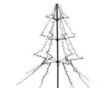 Kaemingk 240 LED Light Up Outdoor Twinkle Lights - Multi/Black Cable