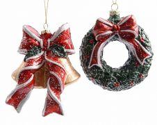 Kaemingk Bells or Wreath Hanger - Assorted