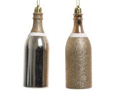 Kaemingk Champagne Bottle With Hanger - Pearl
