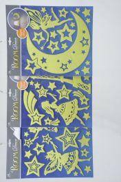 Kaemingk Glow In Dark Sticker - Assorted