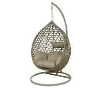 Kaemingk Montreal Hanging Chair - Taupe