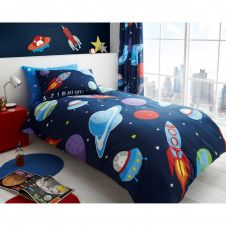KIDS ROTARY DUVET SET OUTER SPACE - 7206