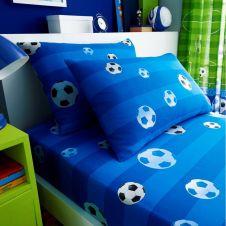 KIDS ROTARY SHEET SET SINGLE GOAL BLUE - 7350