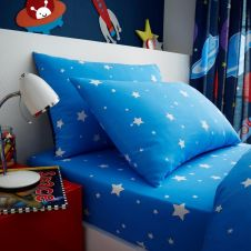 KIDS ROTARY SHEET SET SINGLE OUTER SPACE - 7381