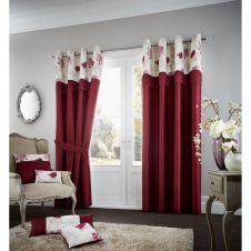 KOH CUSHION COVER DEEP RED
