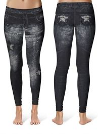 Ladies Denim Fashion Leggings (Pack of 12)