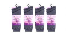 ladies Cotton Rich Grey Socks (Dozen)