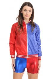 Ladies Red Blue Jacket