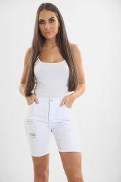Ladies white Shorts