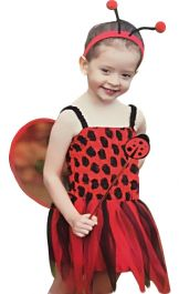 LadyBird Toddler Costume