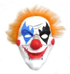 Latex Clown Mask