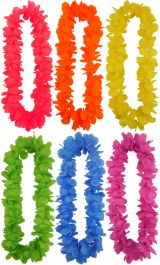 Lei Hula 100cm 6 Assorted Color