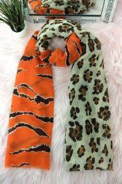 Leopard & Tiger Scarves