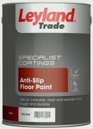 Leyland Trade Anti-Slip Floor Paint 5L - Tile Red