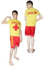 Life Guard Children Costume