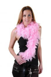 Light Pink Feather Boa High Quality