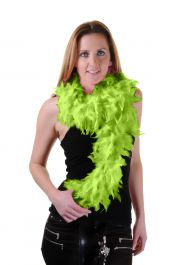 Lime Green Feather Boa High Quality