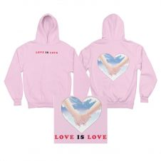 love is love - Rose Hoodie
