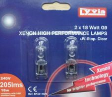 Lyvia G9 Xenon Twin Pack - 18w