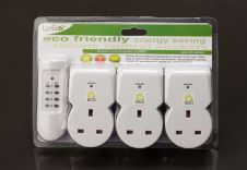 Lyvia Remote Control Sockets - Pack 3