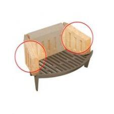 Manor Coal Saver Bricks - Side Pair