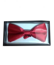 Maroon Bow Tie with Gift Box