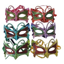 Masquerade Assorted Eye Mask With Glitter