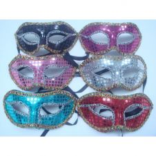 Masquerade Eye Mask Assorted Colour