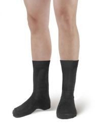 Mens Grey Ankle High Socks(12 Pairs)
