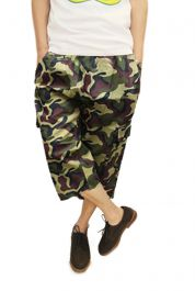 Men Camouflage 3/4 Trousers
