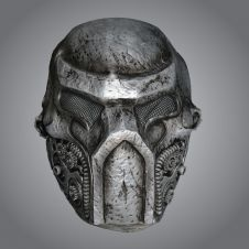 Metalic Warrior Mask