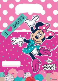 Minnie Dots Party Bags (Pack of 6)