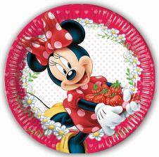 Minnie Jam 23cm Plates (Pack of 8)