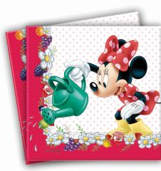 Minnie Jam Lunch Napkins (Pack of 20)